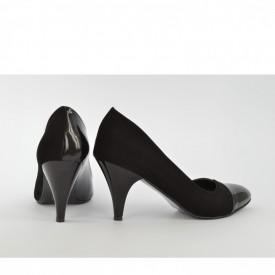 Ženske cipele na štiklu - Salonke 3030 crne