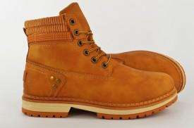 Ženske duboke cipele - Kanadjanke LH85201 žute