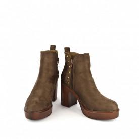 Ženske duboke cipele na štiklu WSB03028BR braon