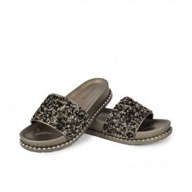 Ženske papuče LP020350-1SV sive