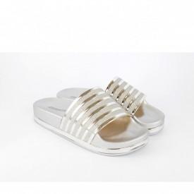 Ženske papuče LP021026SB srebrne