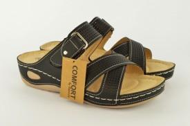 Ženske papuče LP81062-C crne