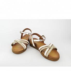 Ženske sandale LS021011BL bele