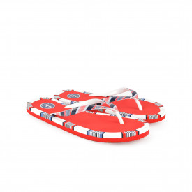 Gumene ženske papuče - Japanke 750034CV crvene