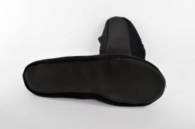 Kožne ženske baletanke M-511 crne