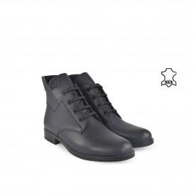 Kožne ženske duboke cipele 634020TT teget