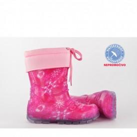 NEPROMOČIVE gumene dečije čizme 00483 roze
