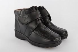 Postavljene ženske duboke cipele A11 crne