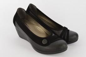 Ženske cipele na ortoped petu S423-37 crne