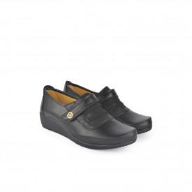 Ženske cipele na platformu 021CR crne