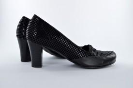 Ženske cipele na štiklu 480 crne