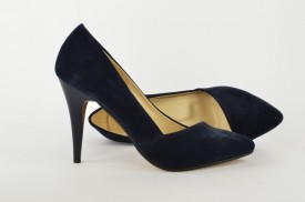 Ženske cipele na štiklu - Salonke 1585-P teget