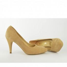 Ženske cipele na štiklu - Salonke 2005 bež