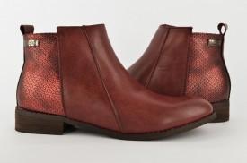Ženske čizme LH85604-CR bordo