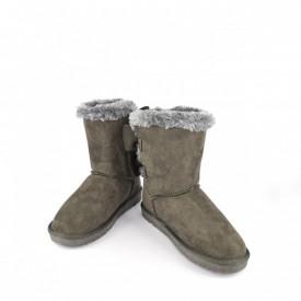 Ženske poluduboke čizme - Šunjalice LH051258SV sive