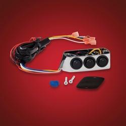 Kiegészítő kapcsoló sor, fékolajtartályra, LED-es kép