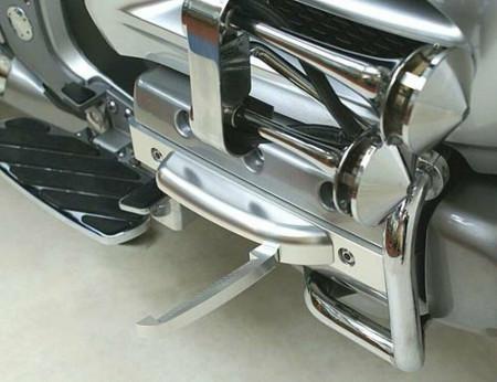 Matt ezüst kihajtható lábtartó GL1800-asokhoz kép