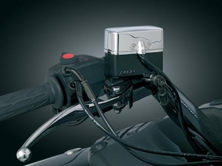 Krómozott kiegészítő világításkapcsoló sor, LED visszajelzéssel kép