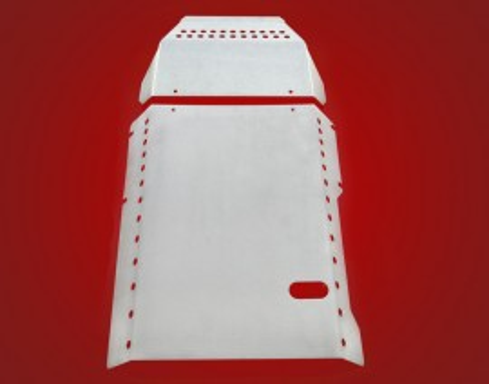 Motor blokkot védő lemez kép