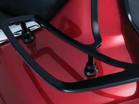 Fekete hátsó csomagtartó GL1800-hoz kép