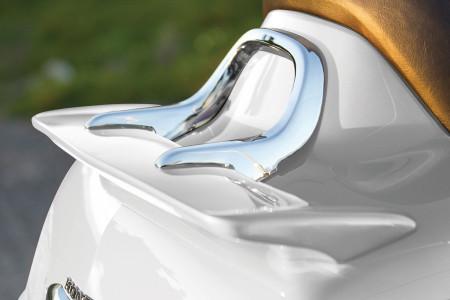 Honda Goldwing hátsó spoiler beépített féklámpával kép