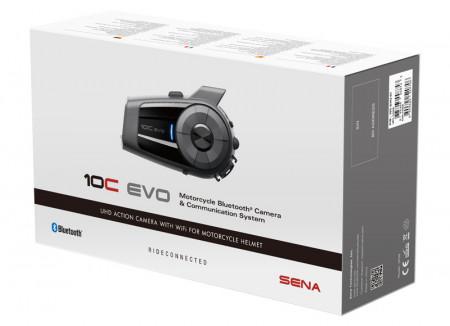 SENA 10C EVO Bluetooth kommunikációs rendszer integrált 4K kamerával kép