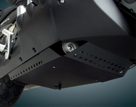 Motor blokkot védő lemez, fekete kép