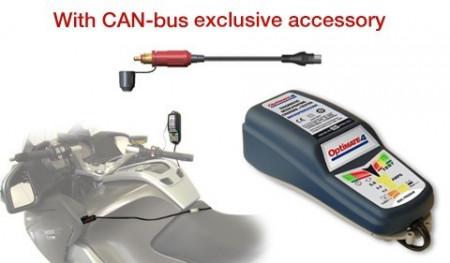 OptiMate 4 CAN-bus-os akkumulátor karbantartó és töltő BMW motorkerékpárokhoz kép