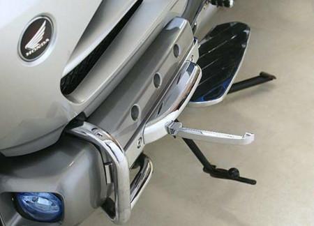 Krómozott kihajtható lábtartó GL1800-asokhoz kép