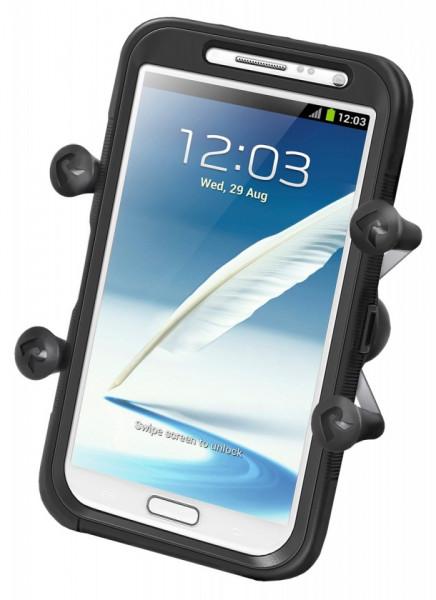 Univerzális extra nagy kijelzőjű telefon tartó szerkezet (X-Grip) kép