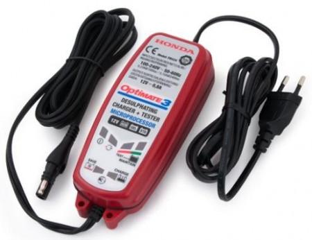 Honda OptiMate 3 akkumulátor karbantartó és töltő kép