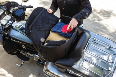 Momentum Wanderer Touring utas ülésre szerelhető táska túra motorokhoz kép