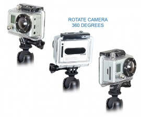 GOPRO kamera rögzítő adapter kép