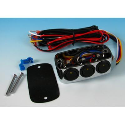 Kiegészítő kapcsoló sor, kuplungolaj tartályra, LED-es kép