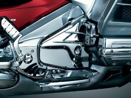 Krómozott motortakaró oldalidom kép