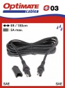 Töltő hosszabbító kábel OptiMate-hez (SAE, 1,8m)