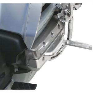 Matt ezüst kihajtható lábtartó GL1800-asokhoz