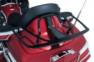 Fekete hátsó csomagtartó GL1800-hoz
