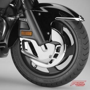 Honda Goldwing krómozott első féktárcsaborítás