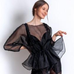Silk Organza blouse