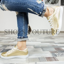 Poze Golden Sneakers Star