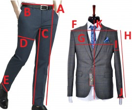 Poze Costum Barbati, Slim Fit, Bluemarin, Ucu Dima, Cod: Costum B. 4816 Bluemarin