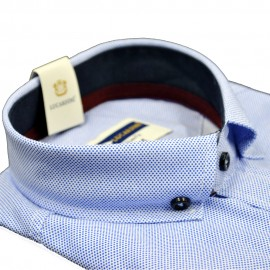 Poze Camasa barbati, Blue, Slim Fit , Lucardini, Cod: 0150 Blue