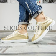 Golden Sneakers Star,Cod:XL-5 Gold