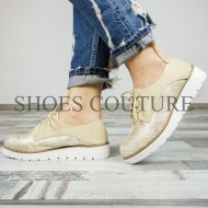 Smart/Casual Gold Shoes