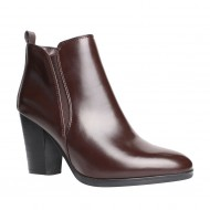 Botine dama maro simple,Cod:BN 16838 CF CAFE
