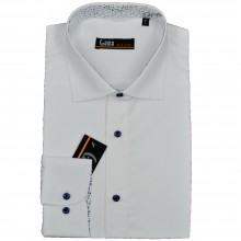 Camasa Barbati, Office,Slim Fit, Alba, Ucu Dima: Camasa B. 0194 Alba