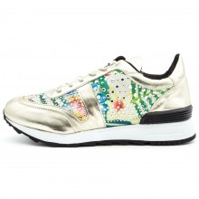 Golden Stras Sneakers,Cod:KP5507-OR Gold
