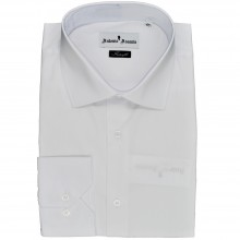 Camasa barbati, White, Slim Fit , Cod: Camasa B.0144 White