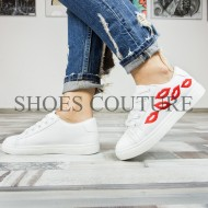 Lips Sneakers White